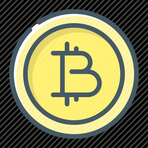 bitcoin, btc, coin, cryptocurrency icon