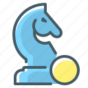 figure, finance, finance strategy, horse, strategy icon