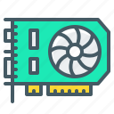 card, hardware, mining, video, video card icon