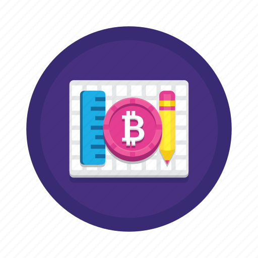 bitcoin, craft, cryptocurrency icon