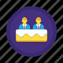 consensus, modular, protocol icon