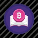 crypto, education, learning icon