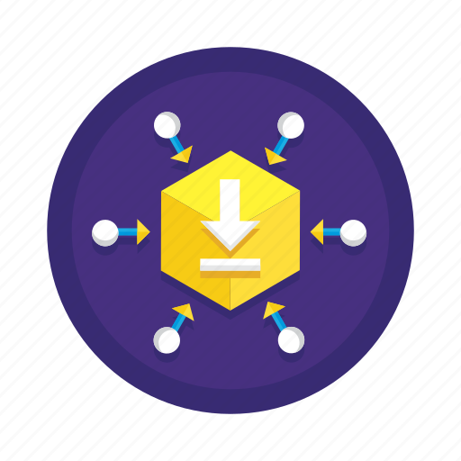 bitcoin, cryptocurrency, dapp icon