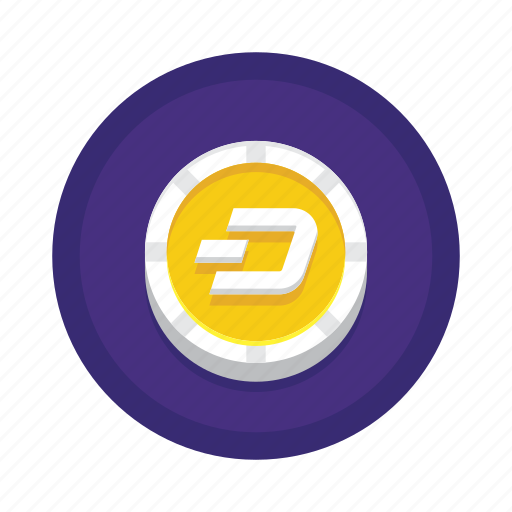 bitcoin, cryptocurrency, dash icon