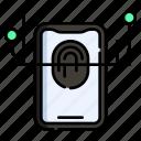 cryptocurrency, market, fingerprint, identity, biometric, identification, scan