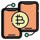 cryptocurrency, finance, payment, mobile, smartphone, transaction, online banking
