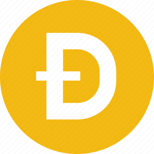blockchain, cryptocurrency, currency, dogecoin icon