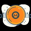 crypto, cryptocurrencies, cryptocurrency, digital money, monero icon
