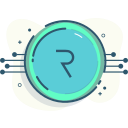 coin, coinmoney, crypto, request, request network icon