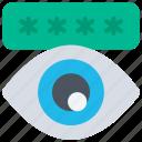 cryptography, encrypt, password, public icon