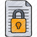 cipher, cryptography, cyber, security, text icon