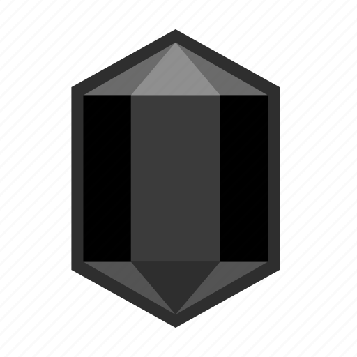 carbon, coal, crystal, engineering, fuel, mineral, power icon