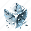 cold, cool, cube, h2o, ice, iced, water icon