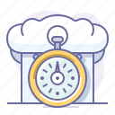 cooking, food, cap, culinarium, time, fast food, stopwatch icon