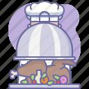 chef, cook, cooking, culinarium, food, kitchen, restaurant icon