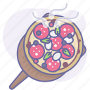 bake, cooking, culinarium, food, meal, pizza, pizzeria