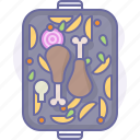 chicken, cook, cooking, culinarium, food, kitchen, meal icon