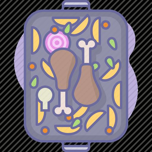 chicken, cook, cooking, culinarium, food, kitchen, meal icon
