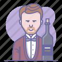 bottle, cooking, culinarium, operator, restaurant, sommelier, wine