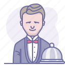 cooking, culinarium, food, operator, person, restaurant, waiter icon