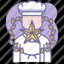 award, chef, cook, cooking, culinarium, mastery, star