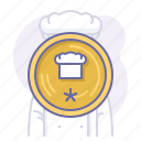 award, chef, cook, cooking, culinarium, mastery, restaurant icon