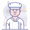 chef, cook, cooking, culinarium, kitchen, mastery, restaurant icon