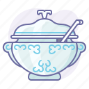 cook, cooking, culinarium, eating, food, kitchen, soup icon