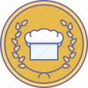 cooking, restaurant, cap, culinarium, award, chef, cook icon