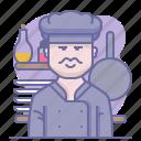 chef, cook, cooking, culinarium, kitchen, mastery, restaurant icon