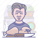 chef, chicken, cooking, culinarium, food, gordon ramsay, kitchen icon