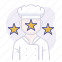 award, chef, cooking, culinarium, mastery, restaurant, skill icon