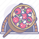bake, cooking, culinarium, food, oven, pizza, pizzeria icon