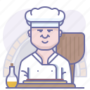 bakery, chef, cooking, culinarium, pizza, pizzeria, restaurant icon