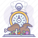 cooking, culinarium, fastfood, food, restaurant, stopwatch, time