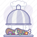 chef, cooking, culinarium, food, kitchen, meal, restaurant icon