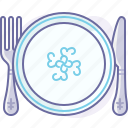 cooking, culinarium, cutlery, eating, food, plate, restaurant icon