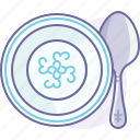 cooking, culinarium, eating, plate, restaurant, soup, spoon icon