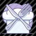 chef, cooking, culinarium, cutlery, food, gastro, restaurant icon