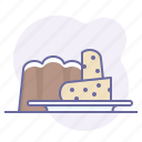 cake, cooking, culinarium, food, patisserie, restaurant, sweet icon