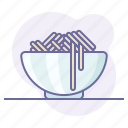 cooking, culinarium, dish, food, pasta, restaurant, spaghetti icon