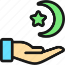 religion, islam, hand