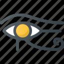 community, culture, egyptian, eye, eye of horus, horus, nation icon