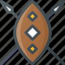 african, civilization, communities, community, culture, nation, shield