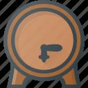 barrel, beer, civilization, community, culture, german, nation icon