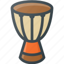 african, community, culture, djembe, drum, instrument, music icon