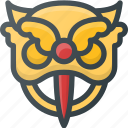 chinese, civilization, community, culture, dragon, head, nation icon