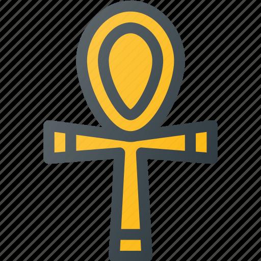 ankh, civilization, communities, community, culture, egypt, nation icon
