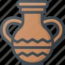 civilization, communities, community, culture, egyptian, nation, vase icon