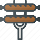 civilization, communities, community, culture, german, nation, sausage icon